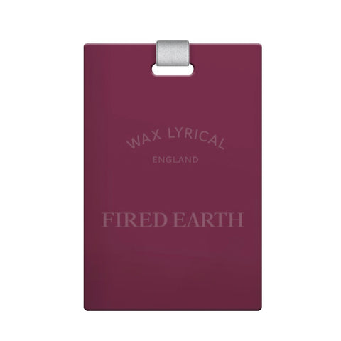 Fired Earth Red Tea Scented Polymer