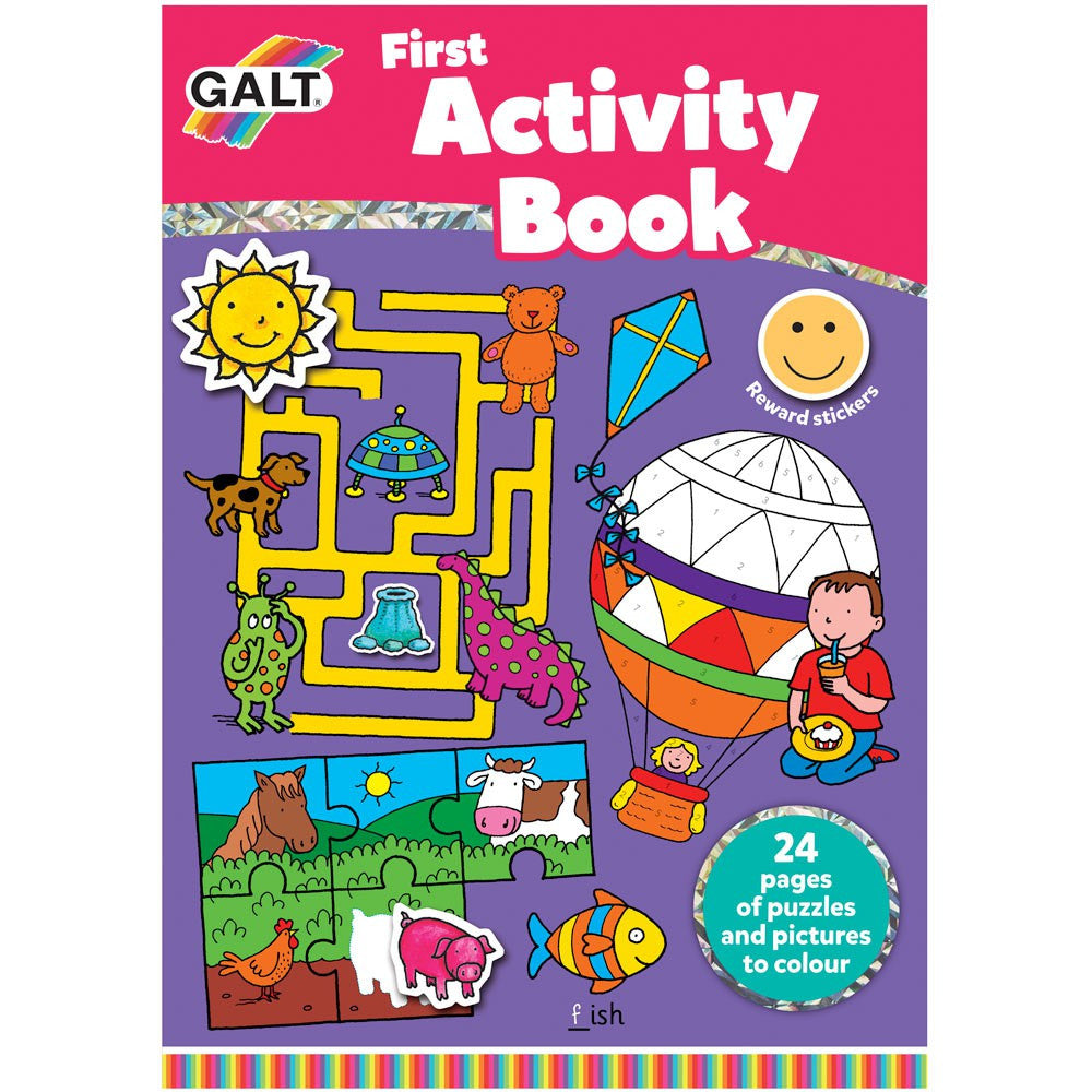 Galt First Activity Book, Baby Books