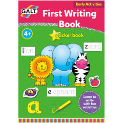 Galt First Writing Sticker Book, Educational Toys & Games