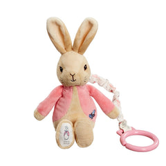 Flopsy Bunny Attachable Jiggle, Cot & Pram Toys