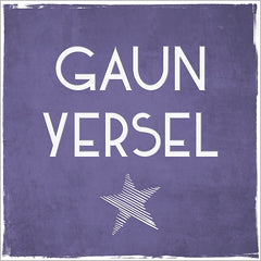 Gaun Yersel Congratulations or Good Luck Card
