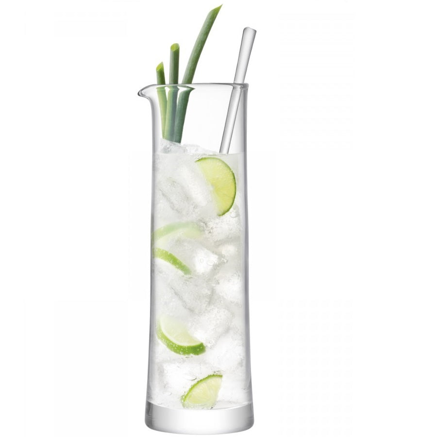 Gin Cocktail Jug 1.1L, Glasses