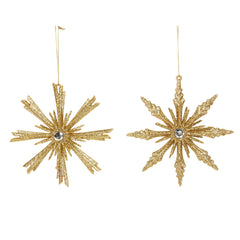 Gold 8-Point Jewelled Star