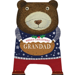 Grandad Christmas Card, Christmas Cards Family