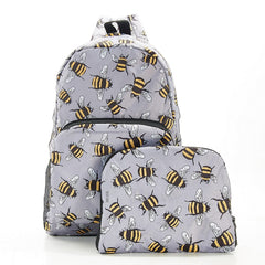 Grey Bees Backpack