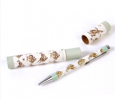 Wrendale Designs Hares Pen, Gifts for her under £50