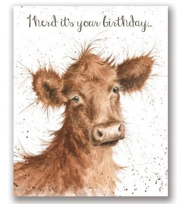 Wrendale Designs I Herd Card, His Birthday Cards