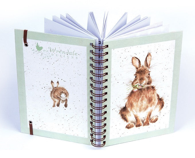 Wrendale Designs Daisy Rabbit Notebook, Easter Gifts