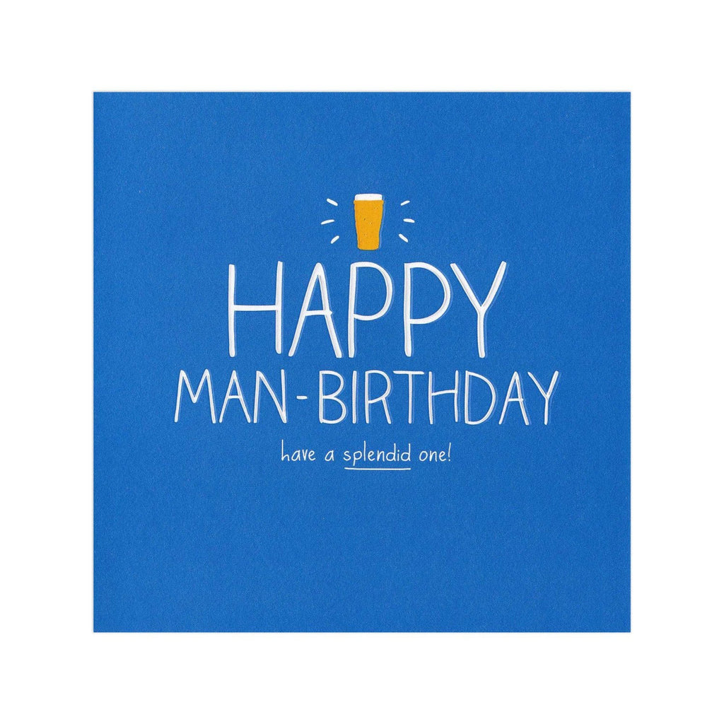 Happy Man-Birthday