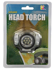 Explorer Head Torch, Pocket Money Toys