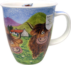 Dunoon Mugs Highland Animals Highland Cow, Mugs