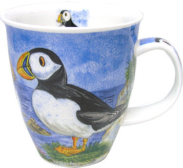 Dunoon Mugs Highland Animals Puffin Mug, Mugs