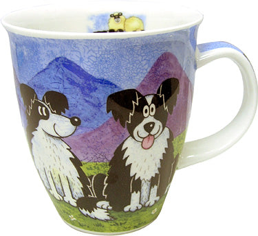 Dunoon Mugs Highland Animals Collie, Mugs