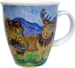 Dunoon Mugs Highland Animals Stag, Mugs