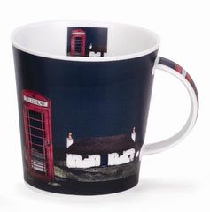 Dunoon Mugs Highland Retreat Phone Box, Mugs