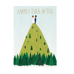 Hilltop Wedding Card