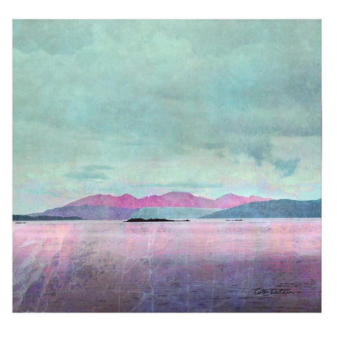 Cath Waters Arran Sunset Card