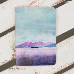 Cath Waters Arran Sunset Notebook