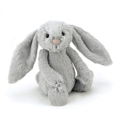 Jellycat Bashful Silver Bunny Medium, soft toys for kids