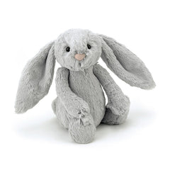 Jellycat Bashful Silver Bunny Small, soft toys for kids