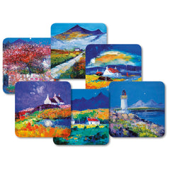 Jolomo Scottish Islands Melamine Tablemats Set of 6