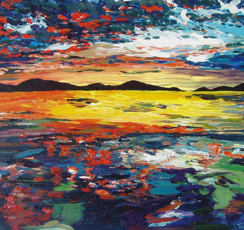 Sound of Jura Sunset