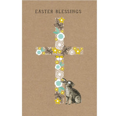 Bunny and Cross Easter Card Pack