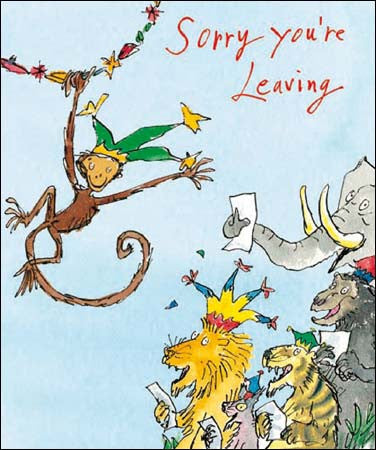 Leaving Card by Quentin Blake, Leaving cards