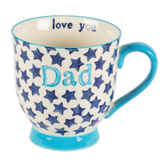 Bohemian Stars Dad Mug, Fathers Day Gifts