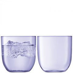 Hint Tumblers in Pale Violet