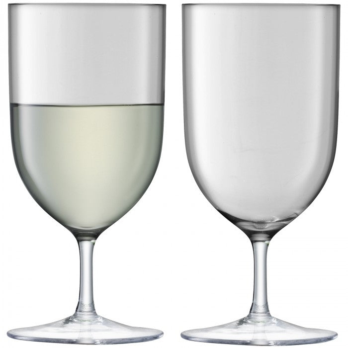 Hint Wine or Water Glasses in Pale Slate