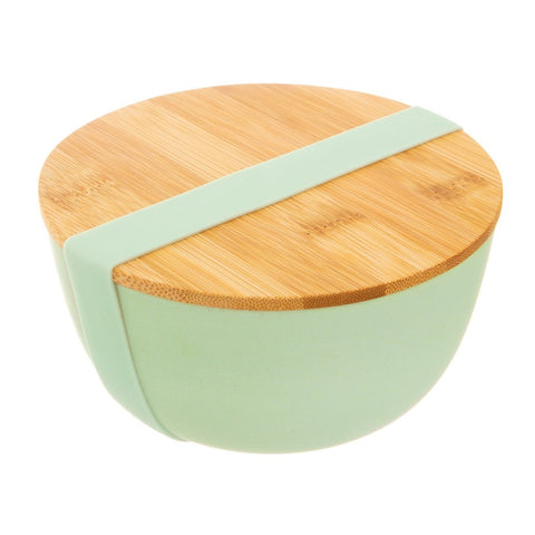 Mint Green Bamboo Bowl