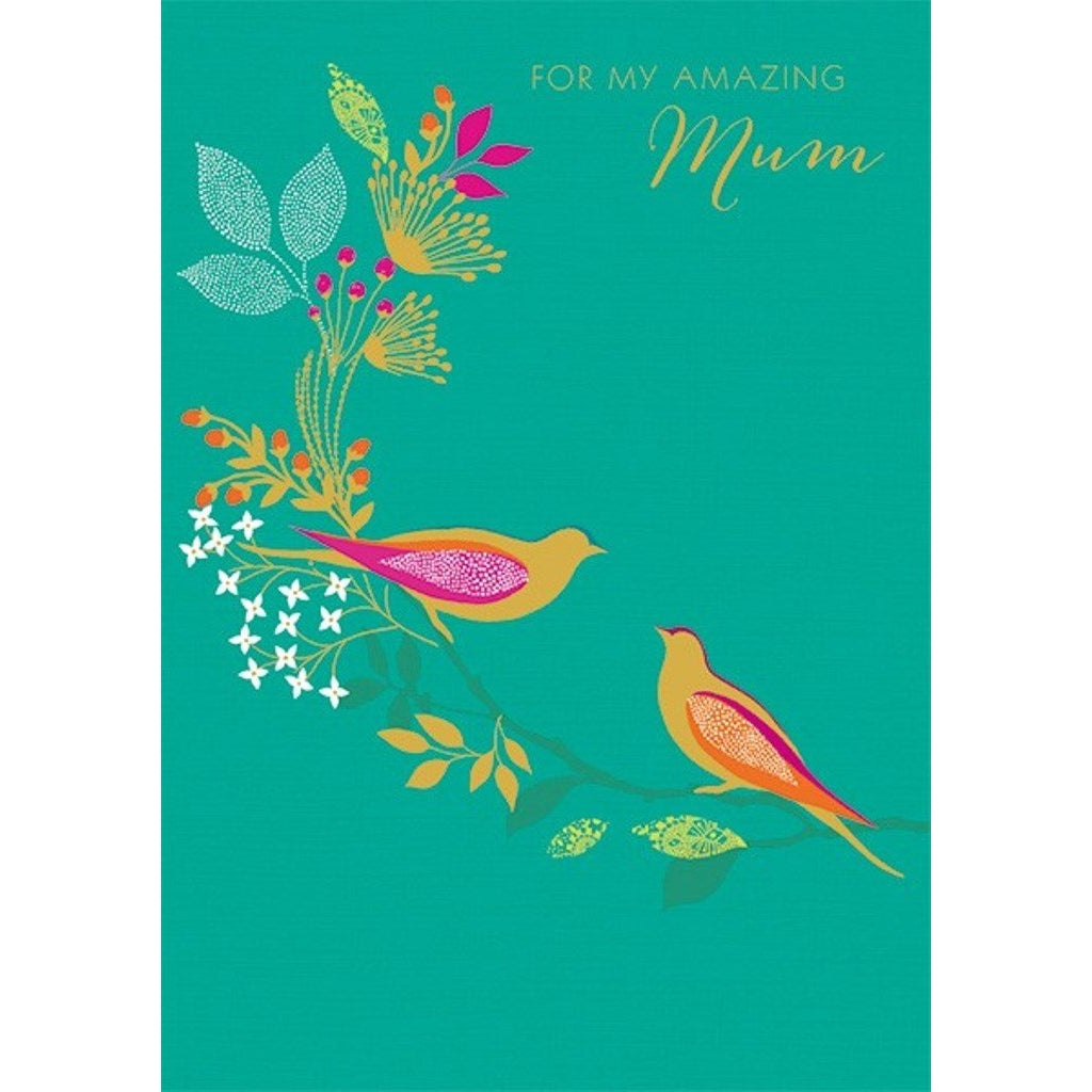 Amazing Birds Mothers Day Card, Mothers Day Cards