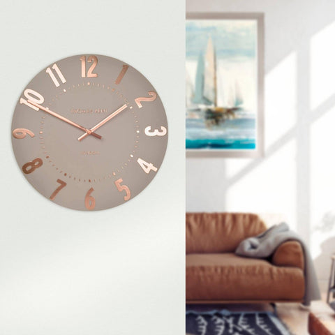 "12"" Mulberry Clock Rose Gold"