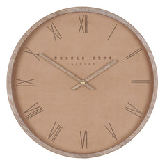 Nordic Wall Clock in Tan