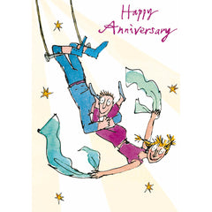 Our Anniversary trapeze couple