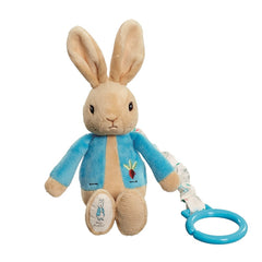 Peter Rabbit Attachable Jiggle, Cot & Pram Toys