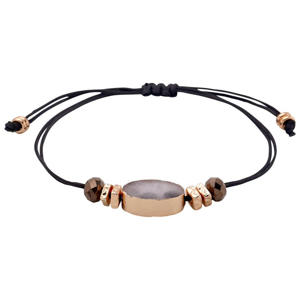 Gaby Rose Gold Plated Bracelet, Jewellery