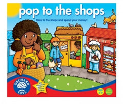 Pop to the Shops Game, Board Games