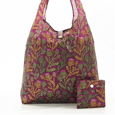 Purple Thistle Shopper