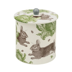 Rabbit & Cabbage Biscuit Barrel Tin