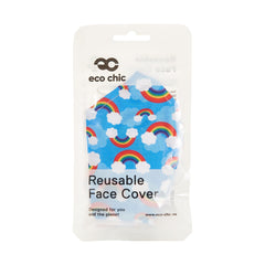 Eco Chic Reusable Face Covering Rainbows