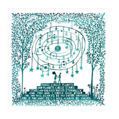 You Are My Universe Rob Ryan Greetings Card