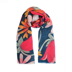 Powder UK Scarf Retro Meadow Teal
