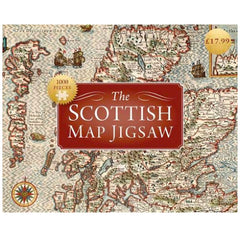 Scottish Map Jigsaw