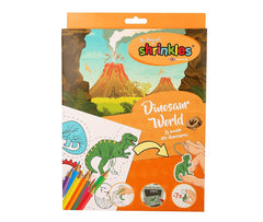 Dinosaur World Shrinkles Bumper Box, creative toys for kids