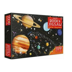 Solar System Book and Jigsaw