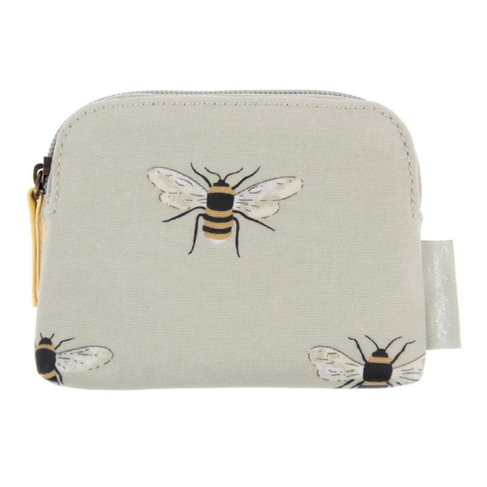 Sophie Allport Oilcloth Purse - Bees