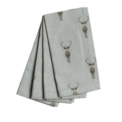 Sophie Allport Highland Stag Set of 4 Napkins