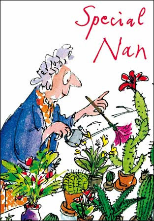 Nan Birthday by Quentin Blake, Her birthday Cards